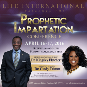 Prophetic Impartation Conference | Life International